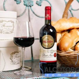 Вино Ореанда Піно Нуар червоне напівсолодке, Oreanda Pinot Noir 0,75 л.