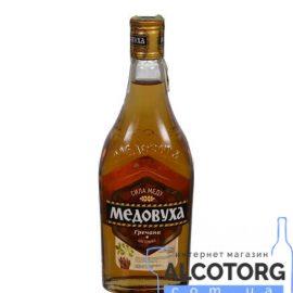 Горілка Медовуха Гречана 0,5 л.