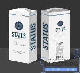 Горілка Особлива Статус Платиновий в коробці, Status Platinum 3 л.