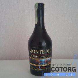 Лікер Монте-Мю Лісний Горіх, Monte-Mu Hazelnut 0,5 л.