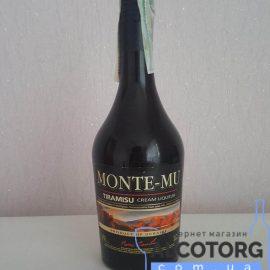 Лікер Монте-Мю Тірамісу, Monte-Mu Tiramisu 0,5 л.