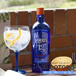 Джин Ларіус 12 Преміум Медітерране, Larios 12 Premium Gin Mediterranea 1 л.
