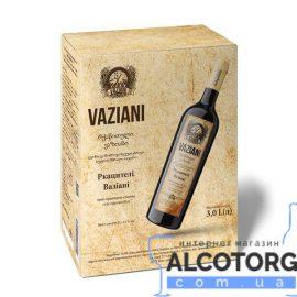 Вино Ркацителі Вазіані біле сухе, Vaziani Rkatsiteli 3 літри.