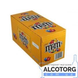 Упаковка драже M&M's з арахісом 36 шт x 45 г.