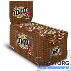 Упаковка драже M&M's молочний шоколад 24 шт x 45 г.