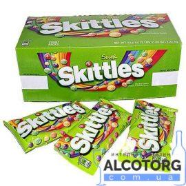 Упаковка драже Skittles Кисло мікс 38 г x 14 шт.