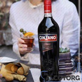 Вермут Чінзано Россо, Cinzano Rosso 1 л.