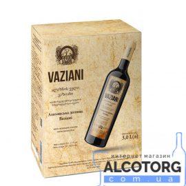 Вино Алазанська Долина Вазіані біле напівсолодке, Vaziani 3 літри.