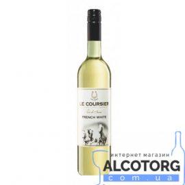 Вино Ле Курзієр Блан біле напівсухе, Le Coursier Blanc VdF 0,75 л.