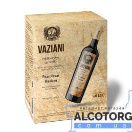 Вино Ркацителі Вазіані біле сухе, Vaziani Rkatsiteli 5 літрів.
