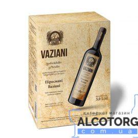 Вино Пиросмани Вазиани Красное Полусухое, Vaziani Pirosmani 3 Литра.