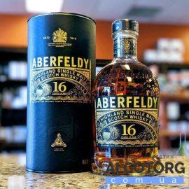 Віскі Аберфельді 16 років витримки, Aberfeldy 16 years old 0,7 л.