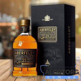 Віскі Аберфелді 21-річний в подарунковій коробці, Aberfeldy 21 Years Old 0,7 л.