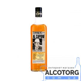 Напій алкогольний Медовий Аль Капоне, Al Capone Honey 0,5 л.