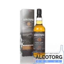 Виски Аэрстоун Лэнд Каск 10 лет, Aerstone Land Cask 10 years old 0,7 л.