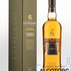 Виски Глен Грант 10 лет выдержки, Glen Grant 10 years old 1 л.