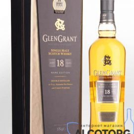 Виски Глен Грант 18 лет выдержки, Glen Grant 18 years old 0,7 л.