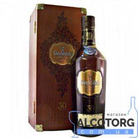 Виски Гленфиддик 30 лет выдержки в коробке, Glenfiddich 30 Years Old gift box 0,7 л.