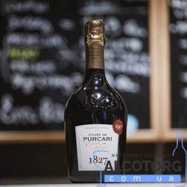 Вино ігристе Кюве де Пуркарь біле Екстра брют, Cuvee de Purcari Extra 0,75 л.