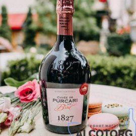 Вино ігристе Кюве де Пуркарь рожеве брют, Cuvee de Purcari Brut Rose 0,75 л.