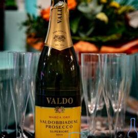 Вино ігристе Вальдо Марка Оро Вальдоббіадене Просекко Суперіор Екстра сухе біле, Valdo Marca Oro Valdobbiadene Prosecco Superiore Extra Dry 0,75 л.