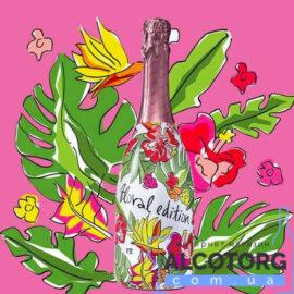 Вино ігристе Вальдо Спуманте Розе Брют Флорал Едішн 4.0 рожеве, Valdo Spumante Rosé Brut Floral Edition 4.0 0,75 л.