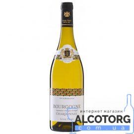 Вино Леверт Фререс Шардоне Бургундія біле сухе, Levert Frеres Chardonnay de Bourgogne 0,75 л.