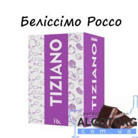 Вино Беліссімо Россо Тіціано червоне напівсолодке, Tiziano 10 літрів.