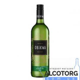 Вино Обіква Шенін Блан біле сухе, Obikwa Chenin Blanc 0,75 л.
