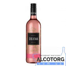 Вино Обіква Пінотаж Розе сухе, Obikwa Pinotage Rose 0,75 л.