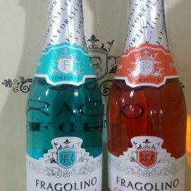 Напій на основі вина Фраголіно Піна Колада Фортініа напівсолодке, Fragolino Pina Colada Fortinia 0,75 л.