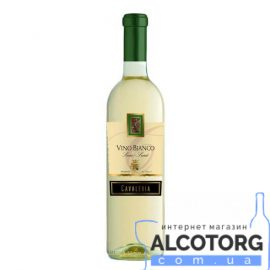 Вино Кавалерия Бьянко Сенца Семи Дольче белое полусладкое, Cavaleria Vino Bianco Senza Semi Dolce 0,75 л.
