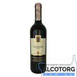 Вино Кавалерія Россо Сенца Секко червоне сухе, Cavaleria Vino Rosso Senza Secco 0,75 л.